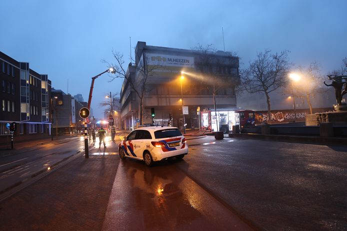 Brand in centrum Eindhoven.