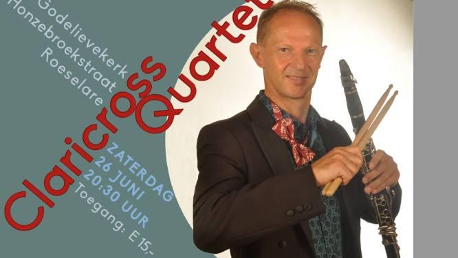 Clariscross Quartet brengt muziek van Roeselaarse componist Willy Soenen