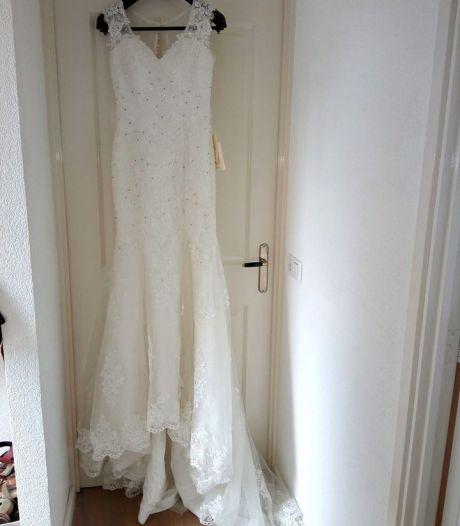 Nooit gedragen trouwjurk te koop: dit is het verhaal