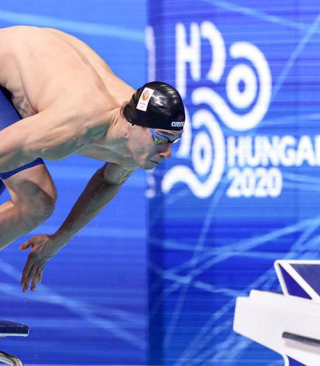Gouden Van den Hoogenband inspiratiebron voor jonge zwemmer Stan Pijnenburg