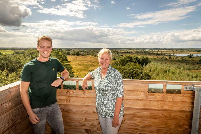 Jarno van Bussel en Mieke Dille.