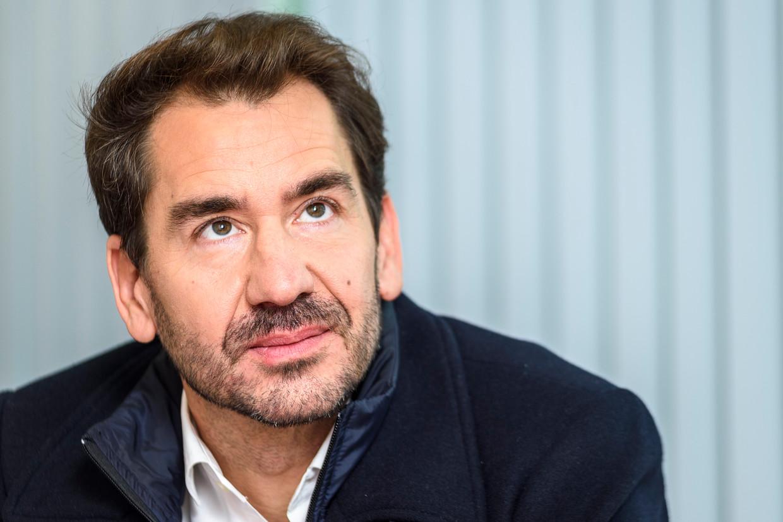 Epidemioloog Marius Gilbert (ULB): 'Het fenêtre de risque is nog niet helemaal gesloten.' Beeld BELGAIMAGE