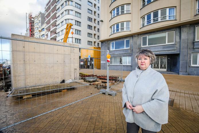 Elsie Achtergaele is naar eigen zeggen verkeerd geïnformeerd bij bewonersvergaderingen. Nu staat ze voor een voldongen feit.