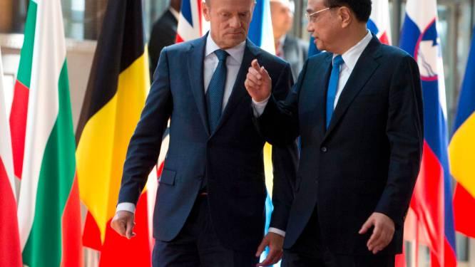 """EU en China gaan meer samenwerken in strijd tegen klimaatopwarming: """"We gaan door, met of zonder de VS"""""""