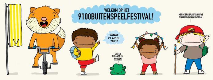 In Sint-Niklaas werd een tiendaags alternatief uitgewerkt met '9100BuitenSpeelFestival.