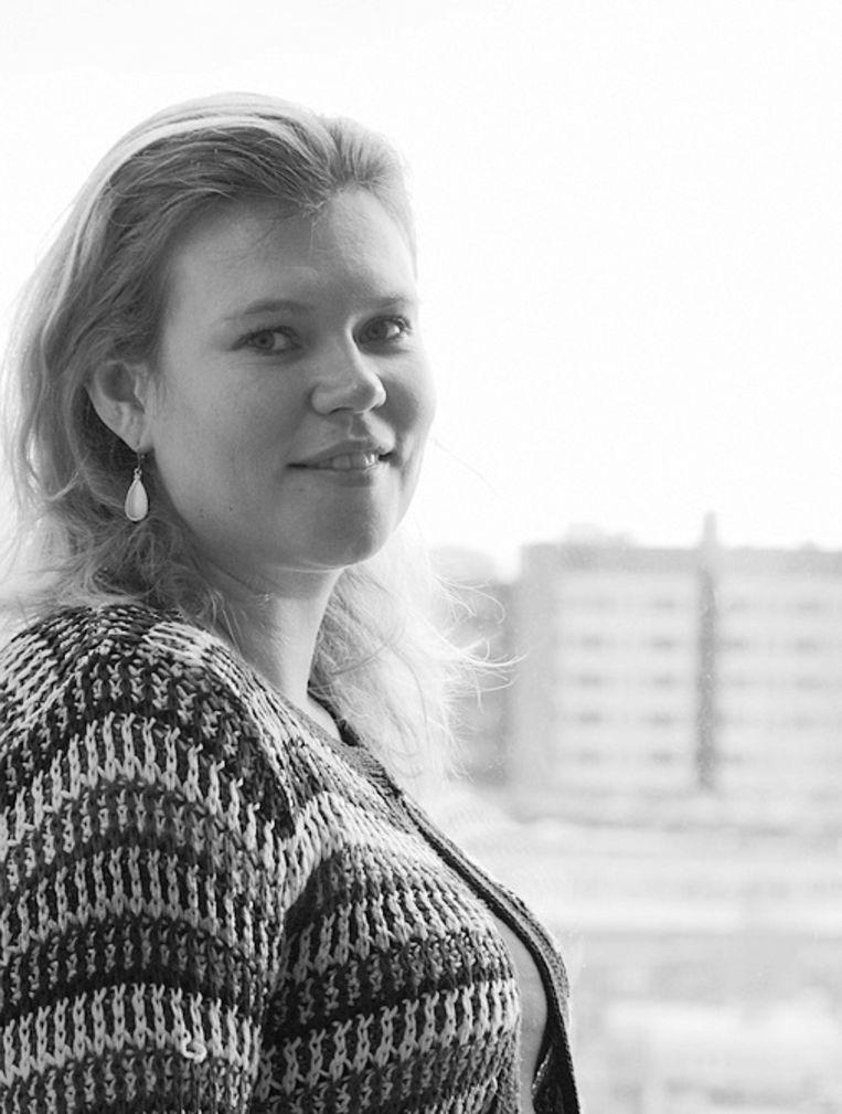 Eefje Steenvoorden, universitair docent aan de UvA afdeling politicologie. Beeld
