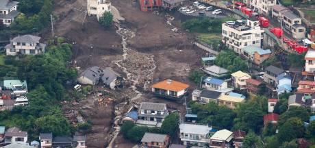 Effroyable coulée de boue au Japon: un bilan provisoire de 4 morts et 64 disparus