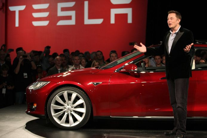 Tesla's CEO Elon Musk.