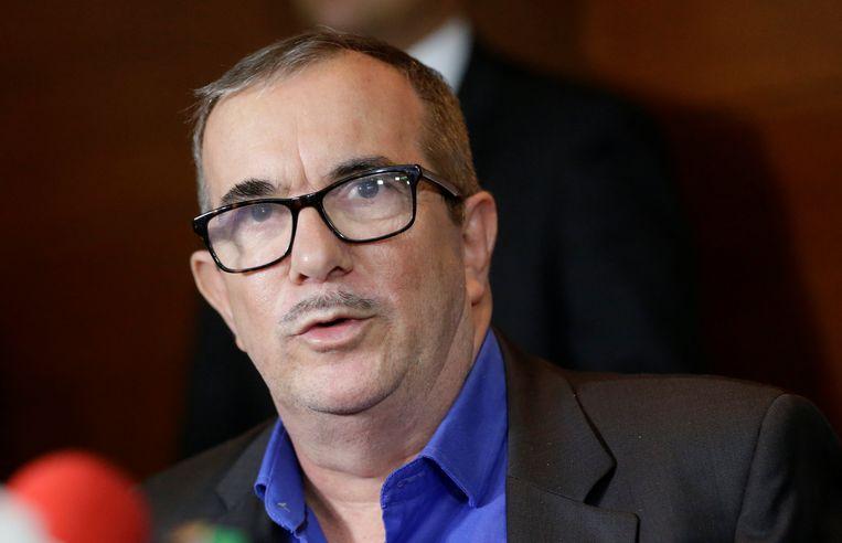 De leider van de gewezen Colombiaanse FARC-guerilla, Rodrigo Londoño, bijgenaamd Timosjenko, heeft op zijn proces vergiffenis gevraagd voor de wreedheden van zijn beweging.