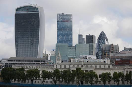 De Londense City, nu het financiële centrum van Europa, verliest door de Brexit de nodige banen.