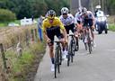 Roglic gaat aan kop tijdens Luik-Bastenaken-Luik 2020.