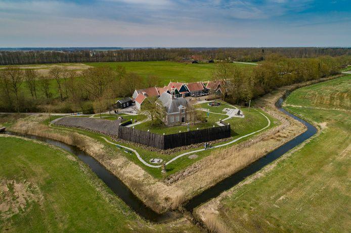 Werelderfgoed Schokland, voormalig eiland in de Zuiderzee.
