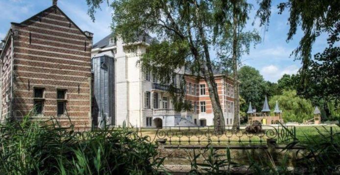 Het Bisschoppenhofpark in Deurne.
