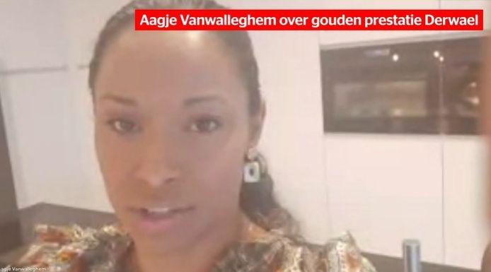 Aagje Vanwalleghem over het goud van Nina Derwael.