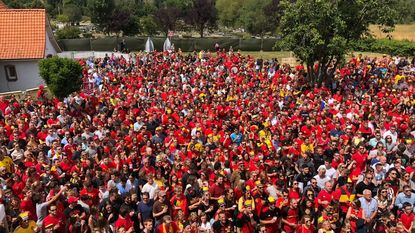 Dilbeek kleurt zwart, geel en rood