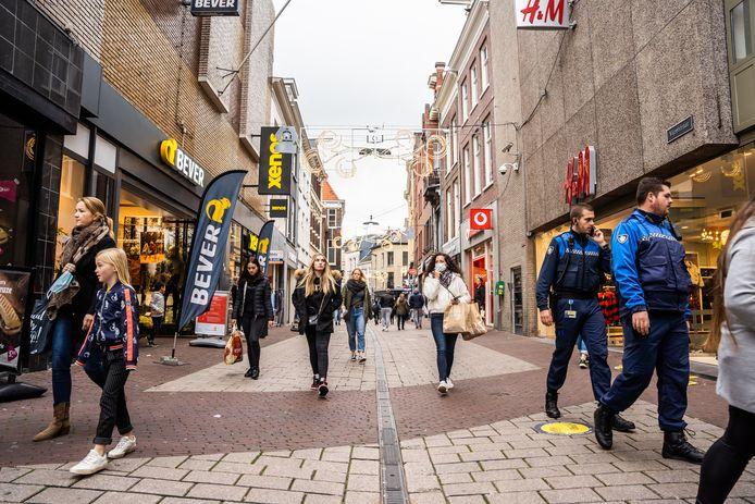 Winkelstraat in Arnhem.