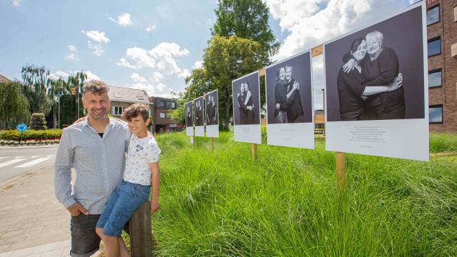 """Kurt maakte 34 portretten die je goed moeten laten voelen: """"Nog tot eind augustus blijven ze in het straatbeeld"""""""