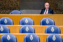 Pieter-Jaap Aalbersberg (hoofd van de NCTV) tijdens een Kamerdebat. Hij zal vragen krijgen over de beveiliging van De Vries.