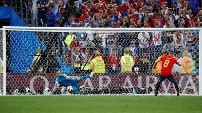 Opnieuw sensatie op het WK: Rusland verrast favoriet Spanje na strafschoppen, Akinfeev wordt de held