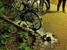 Fiets verwoest door brand bij Zevenaarse flat
