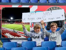Dit aantal fans laten Feyenoord en FC Utrecht toe tijdens play-offs