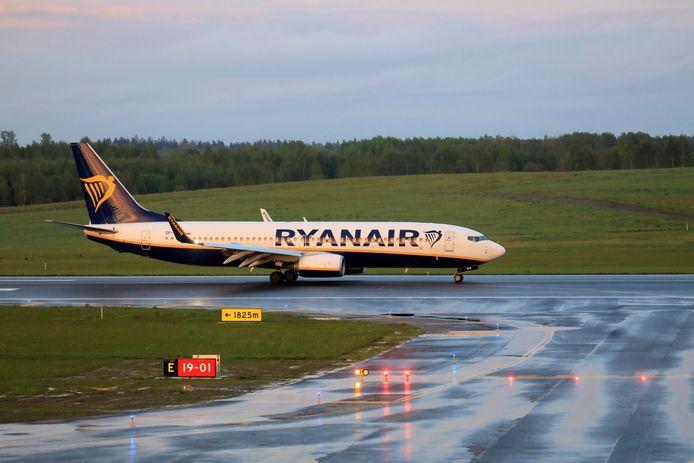 Het toestel van Ryanair landde uiteindelijk op eindbestemming Vilnius nadat het eerst noodgedwongen moest landen in Wit-Rusland.