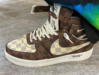 Louis Vuitton steekt de Air Force 1-sneakers van Nike in een gloednieuw jasje