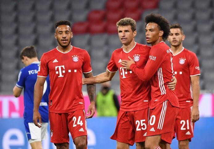 Bayern München maakte er liefst acht tegen Schalke 04.
