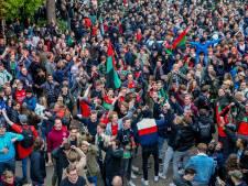 Promotiefeest NEC trekt 8000 fans, burgemeester: 'Zoiets hou je niet tegen'