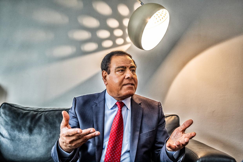 Izzeldin Abuelaish: 'Ooit houdt de bezetting op. Ik hoop en geloof dat ik dat in mijn leven nog zal meemaken.' Beeld Tim Dirven