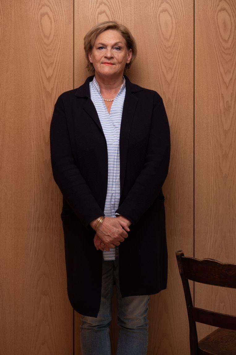 Bea Cantillon: 'Ik ben nooit zo radicaal geweest.Veranderingen kosten tijd. Onze welvaartsstaat heeft er tweehonderd jaar over gedaan om het probleem van de proletariër op te lossen.'   Beeld Wouter Maeckelberghe