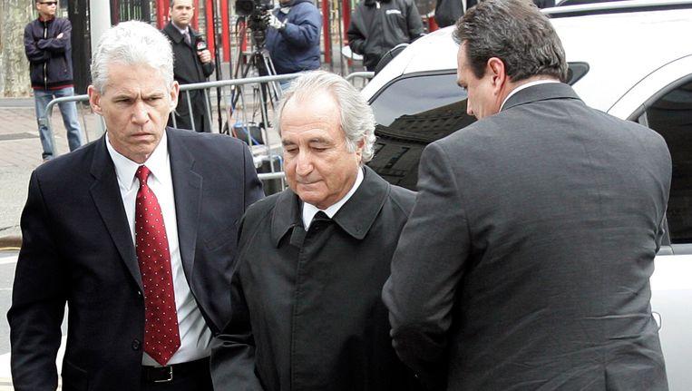 Bernard Madoff kreeg 150 jaar cel voor oplichting. Beeld REUTERS