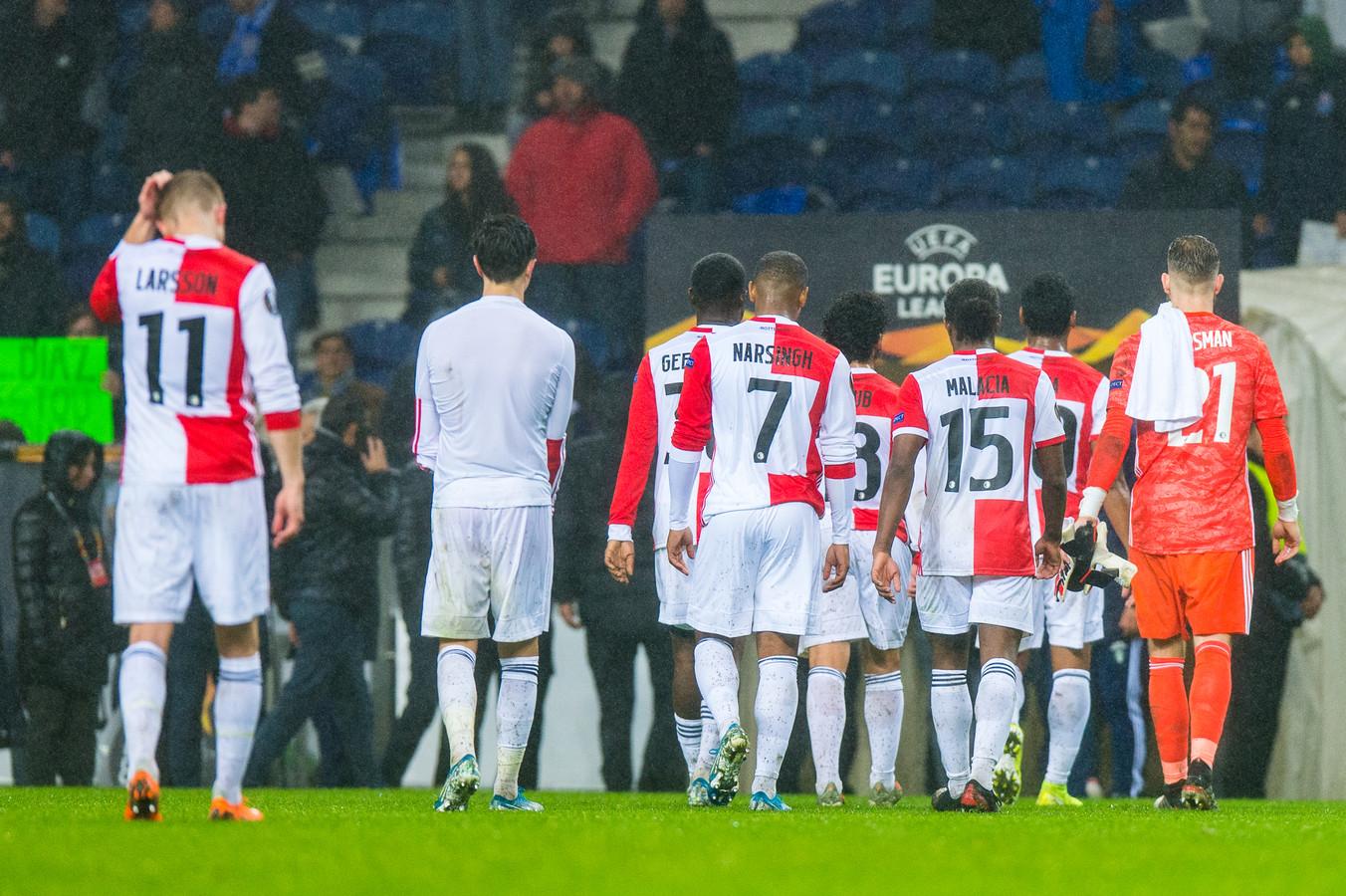 Feyenoord werd al in de groepsfase van de Europa League uitgeschakeld.