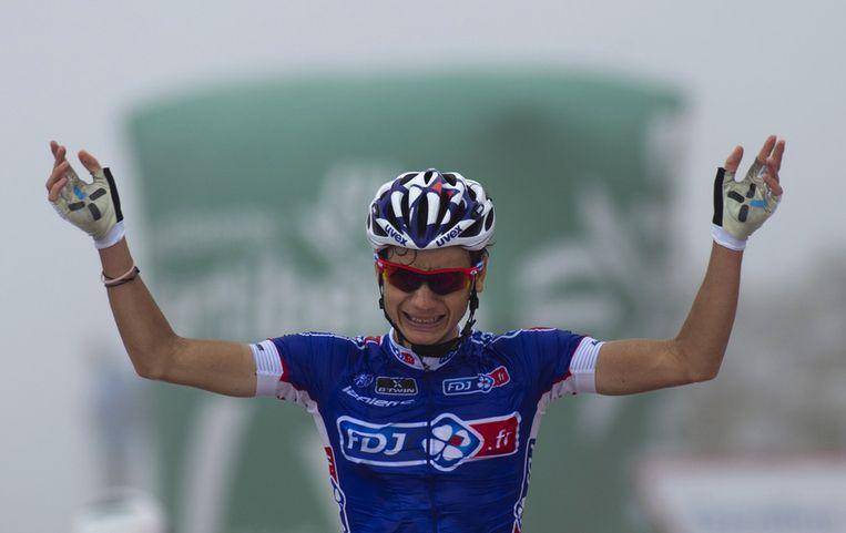 Elissonde is na Barguil en Geniez een volgend Frans toptalent dat de wielerwereld bestormt Beeld AFP