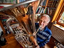 70 jaar lid van de Holtense Muziekvereniging maar Gerhard Voordes is nog lang niet uitgeblazen