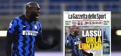 """""""Un géant"""", """"une tornade"""", la presse italienne s'enflamme pour """"l'insaisissable"""" Lukaku"""