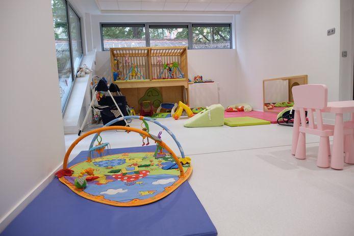 De crèche werd gemaakt op maat van kinderen met een auditieve of visuele handicap