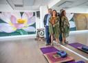 Bart en Cynthia Collet in hun huidige onthaastingsstudio Lotuszen in Stadshagen.