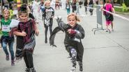 IN BEELD: 'Griezeltjes' lopen voor het goede doel