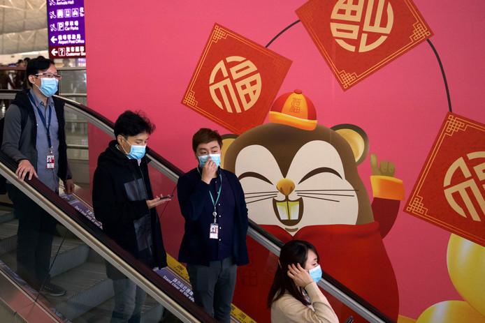 In China is een run op mondkapjes ontstaan