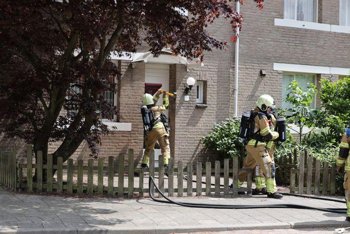 Veel schade aan huis na brand in Kaatsheuvel .