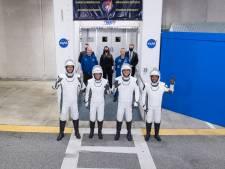 SpaceX brengt vier astronauten naar internationaal ruimtestation: volg hier live de lancering