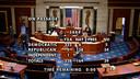 Vijf Republikeinen stemden met de Democraten mee.