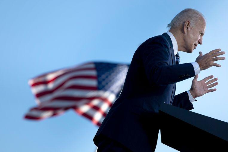 De Democratische presidentskandidaat Joe Biden. Beeld AFP