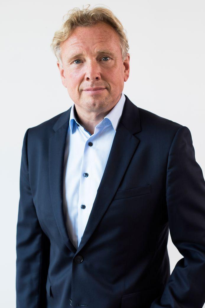 Hoofdredacteur Paul van den Bosch.