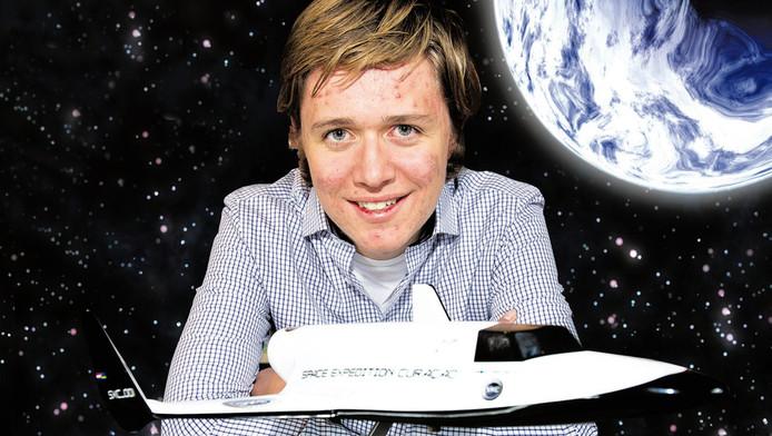 Nout van Zon wordt de jongste ruimtevaarder ooit.