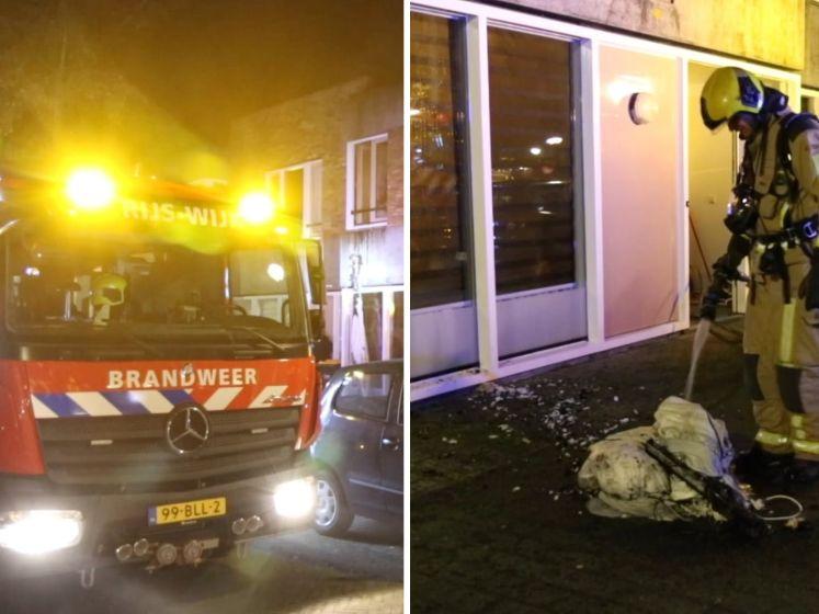 Gewonde bij slaapkamerbrand in Wateringse Veld