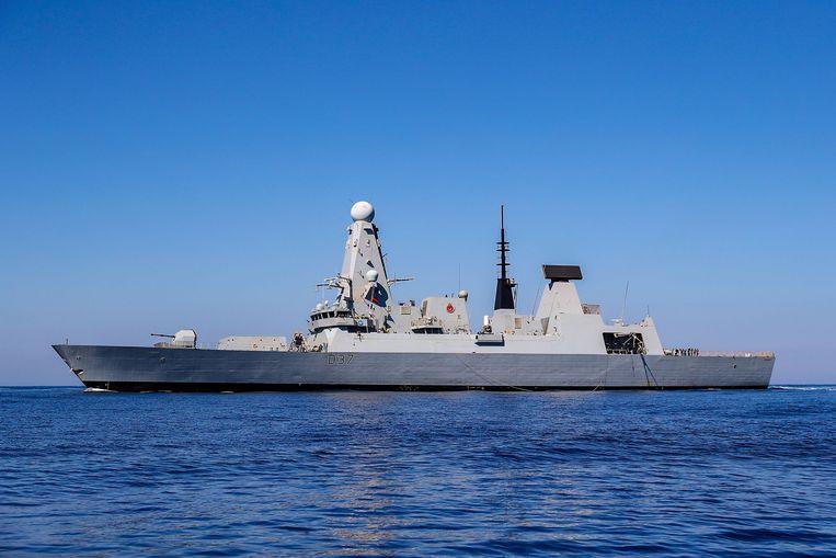 Brits oorlogsschip HMS Duncan