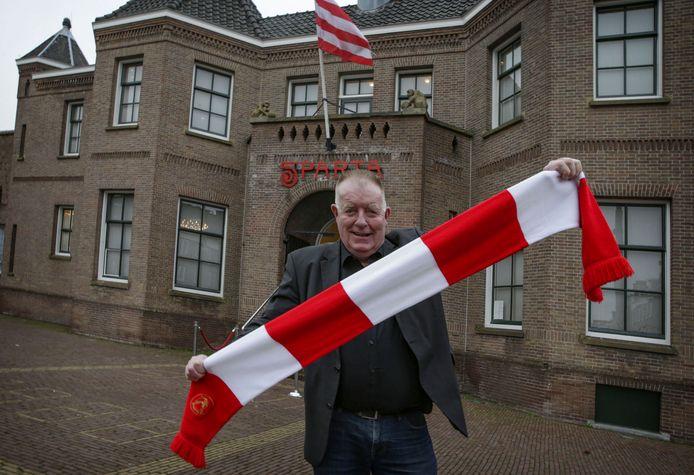 Ad Borstlap, oud-voorzitter van de supportersvereniging van Sparta Rotterdam.