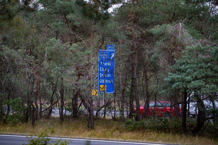 De discussie over massale bomenkap langs de A28 voor brandveiligheid vindt de VNOG 'niet zo'n probleem'.